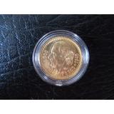 Moneda De Oro Antigua Hidalgo 2 1/2 Pesos 1945
