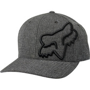 Gorra Fox Clouded Flexfit Negro Casual