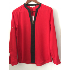 Camisas Rojas Calvin Klein