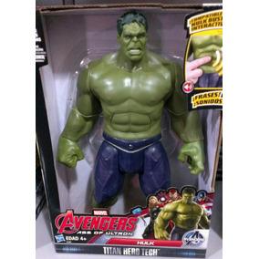 Figuras Hulk Y Thor Con Sonidos De Hasbro. Marvel