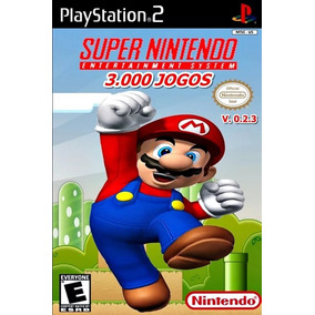 Super Nintendo 3000 Jogos Ps2 Top Gear, Mario, Donkey Kong !