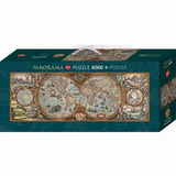 Puzzle Rompecabezas Geográfico Mapa 6000 Piezas 235cm