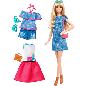 Boneca Barbie Fashionistas Com Acessório Fashions 43 Lacey B