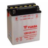 Bateria Yuasa 12n12-4a-1 Motos Alta Cilindra.wagner Hermanos