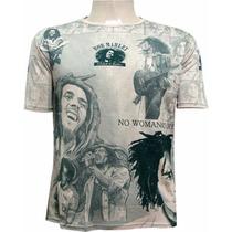 Camisa Indiana Bob Marley Frete Gratis Reggae Tenda Roots