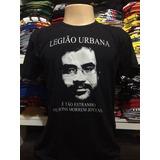 Camiseta Banda Legião Urbana Renato Russo