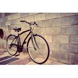 Bicicleta Rodado 28 Hombre Paseo Retro Con Cambios
