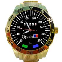 Relógio Personalizado Gold Velocimetro Gm Opala Original 200