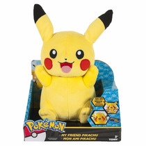 Pikachu Peluche Luces Sonidos Y Frases
