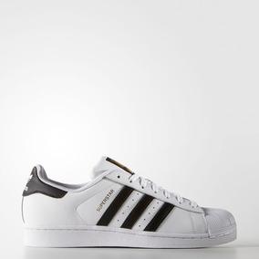 Tenis adidas Superstar 3 Listras Couro Street Unissex Promo 5c0740df0b81