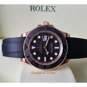 09de216161f Rolex Yacht Master 18k Gold Serial A Impecavel. Ref 16628 - Relógios ...