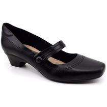 Sapato Feminino 100% Couro Neftali 4081 Loja Pixolé