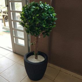 Ficus Bola Artificial 105cm - Planta Artificial