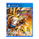 Dragon Ball Fighter Z Ps4 - Fisico - Nuevo