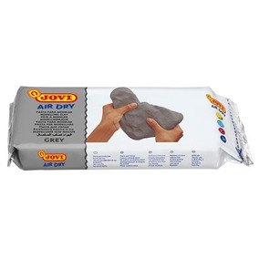 Pasta Para Modelar Color Gris Jovi Air Dry 1 Kilo Art-86g
