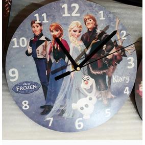 15 Relojes Cuadrados O Redondos, Personalizados!!