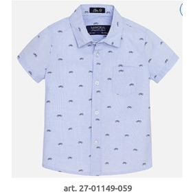 Camisa Para Bebé Niño Mayoral 6 9 Y 12 Meses Formal