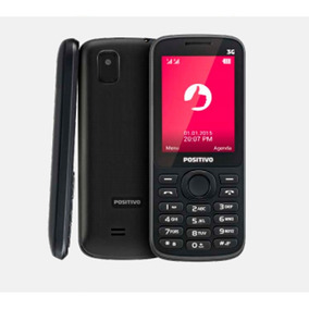 Celular Positivo P30v Feature Phone Tela 2.4 3g Bluetooth