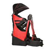 Deluxe Red Baby Mochila Infantil Cross Country Carrier St...