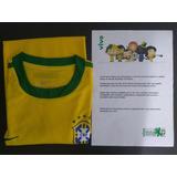 Camisa Copa 2010 Brasil - Promoção Vivo - Tamanho L