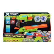 Kit Lançadores De Dardos - X-shot Bug Attack - Candide