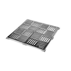 Ralo Caixilho 30 X 30 Quadrado Para Piscina De Alvenaria