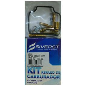 Reparo Carburador Moto Dafra Laser 150 Siverst