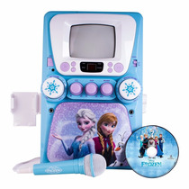 Karaoke Disney Frozen Con Pantalla Cd Mp3