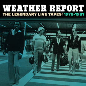 Weather Report Legendary Live Tapes Importado Cd X 4 Nuevo
