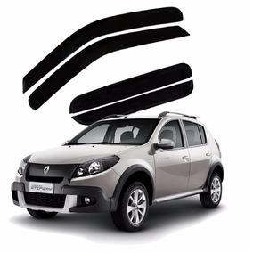 Calha De Chuva Defletor Renault Sandero Stepway 2009 A 2014