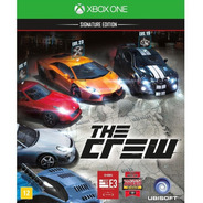 The Crew Signature Edition Xbox One Mídia Física Português