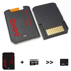 Adaptador Memoria Micro Sd Psvita Sd2vita Hasta 3.68 Juegos
