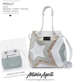 Bolso De Cuero Marinero Antonia Agosti- Modelo Molly!!