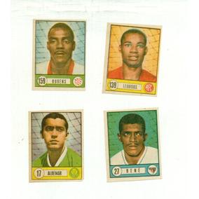 4 Figurinhas Da Coleção Flashes Do Futebol - Cod. Caixa 1