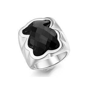 Anillo De Hombre Piedra Negra - Anillos de Acero en Mercado Libre ... e6054af37b8b