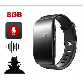 Relógio Smart Com Mini Gravador De Voz Espião Som Áudio Mp3