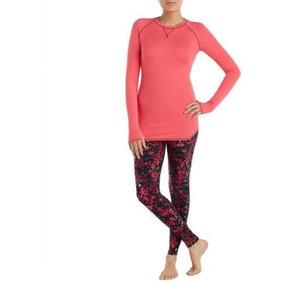 Pijama Blusa Pantalón Leggins Americana Dama Talla Xl