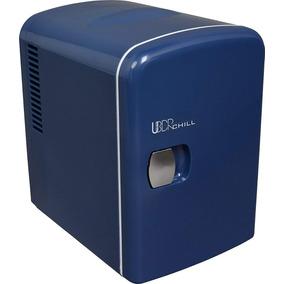 Frigobar Mini Refrigerador Personal Para 6 Latas Navy Blue