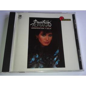 Beatriz Adriana Arrepentida Y Sola Cd Fonovisa 1996