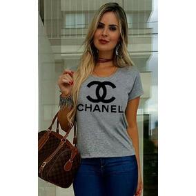 Camiseta Chanel Tshirt Feminina