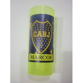Vasos Plasticos Personalizados Boca Juniors Cumpleaños 10u