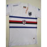 Camiseta Sampdoria Kappa Blanca Oficial 2015 Adulto Original