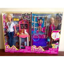 Bonecas Barbie Profissões Kit