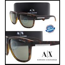 Lentes De Sol Armani Exchange Wayfarer Ax4052s 802973 Nuevo