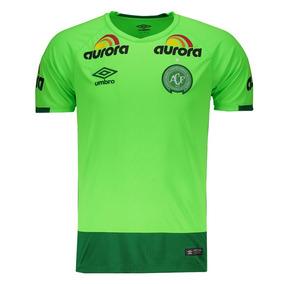 Camisa Umbro Chapecoense Goleiro 2016 Verde ba7856420b71c