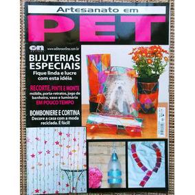 Revista Artesanato Em Pet - Revista De Arte Com Garrafa Pet