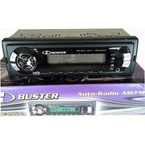 Rádio Automotivo Digital H-buster Hbr-2003 Am/fm/auxiliar