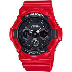 Relógio Casio G-shock Anadigi Masculino Ga-201rd-4adr