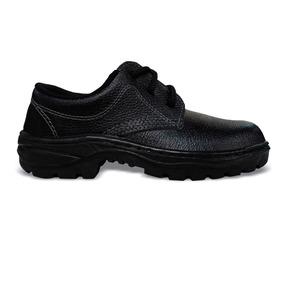 Sapato De Segurança Com Cadarço Sem Bico Monodensidade N39