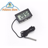 Termometro Digital Con Sonda De Medicion Para Usos Multiples